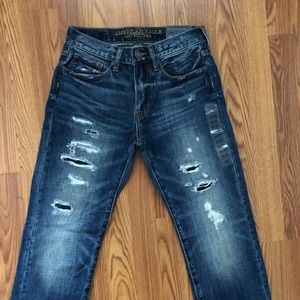 | American Eagle straight 28x30 distressed